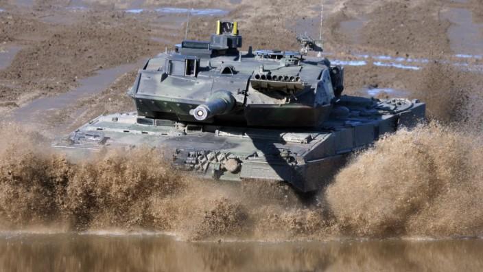 Deutschland Saudi-Arabien Rüstungsexport Panzer