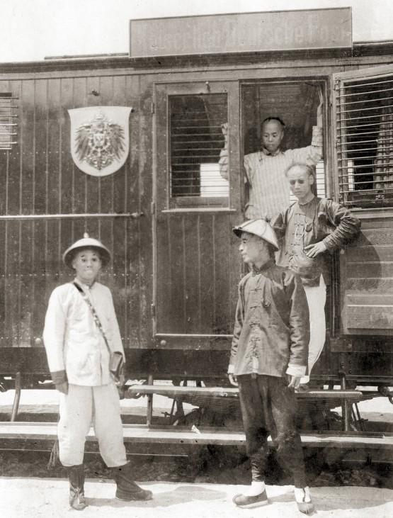 Beamte der kaiserlichen Deutschen Reichspost