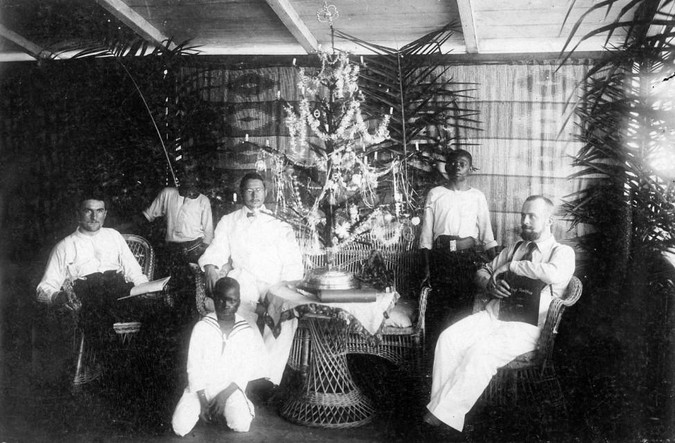 Weihnachten in Kamerun, 1909