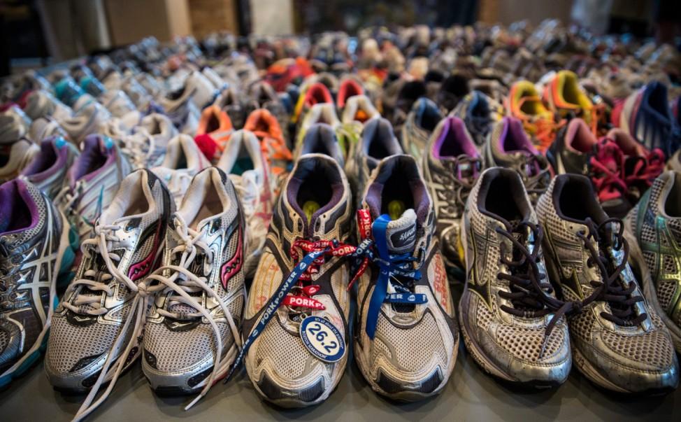 Gedenken an den Boston Marathon