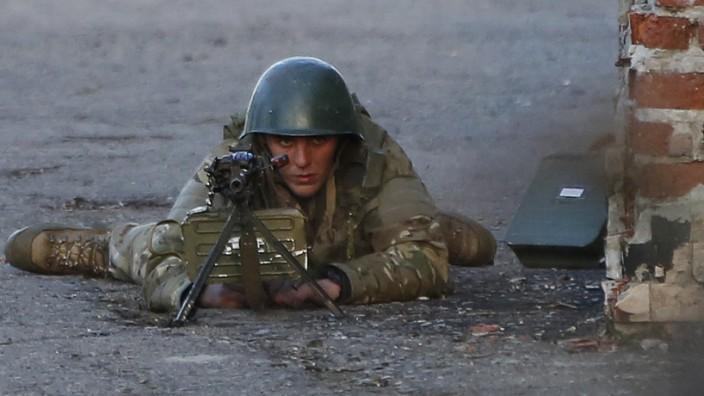 Ukraine: Kämpfe in Kramatorsk