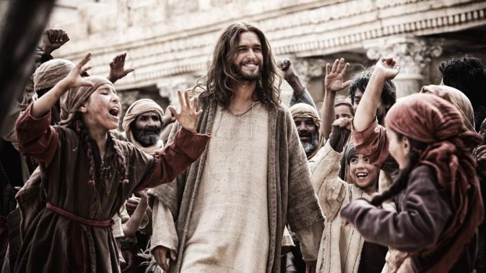 """Mini-Serie """"Die Bibel"""" auf Vox: Jesus liebt dich: Hauptdarsteller Diogo Morgado."""