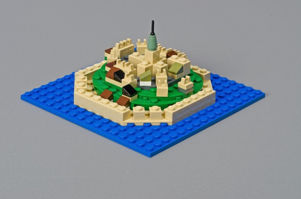 Mont Saint-Michel Normandie Lego Frankreich