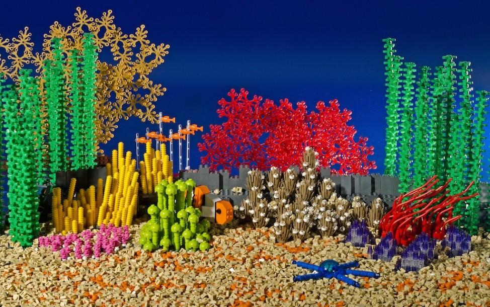 Great Barrier Reef Australien Lego Warren Elsmore