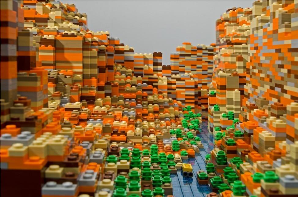 Lego Grand Canyon Warren Elsmore Arizona USA