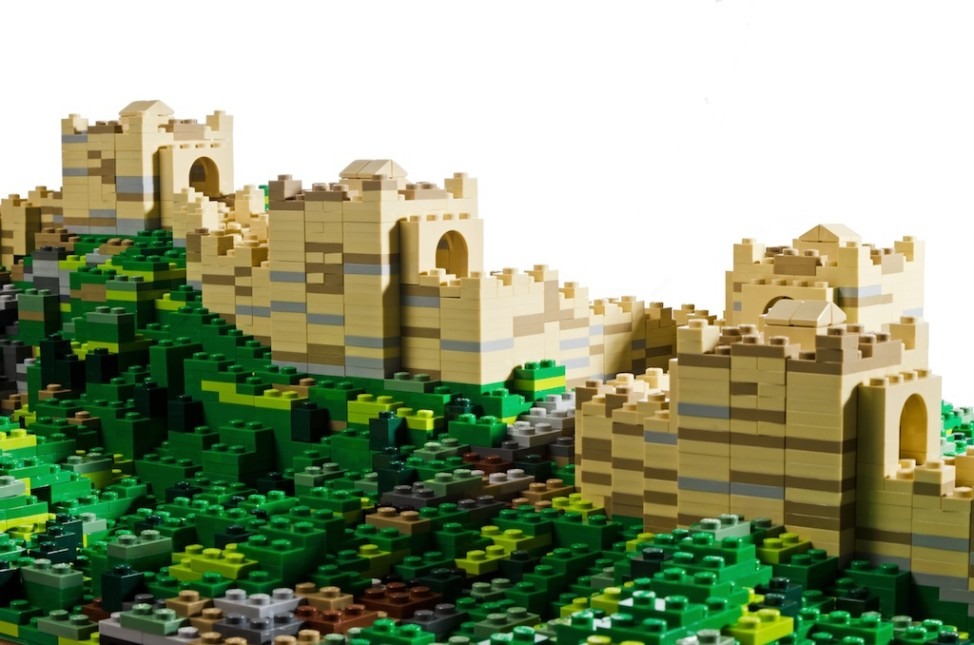 Chinesische Mauer Lego Warren Elsmore