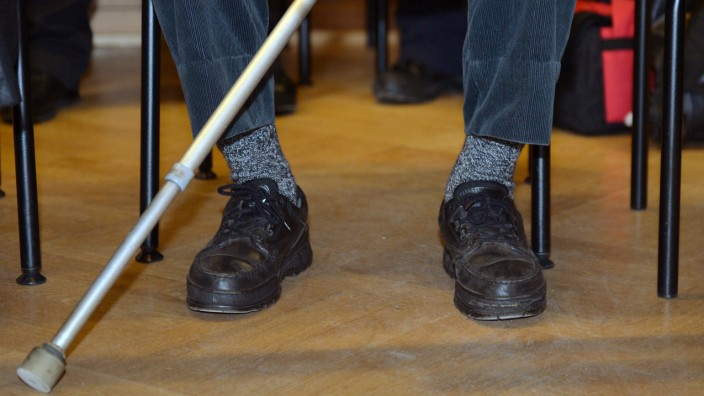 Prozess-Beginn gegen 80 Jahre alten Mann wegen Totschlags
