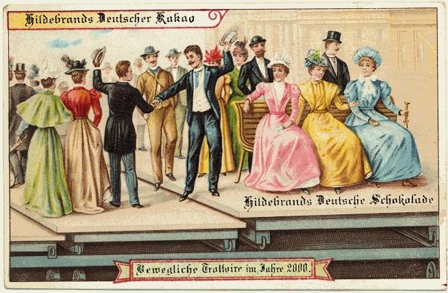 Hildebrands Postkarten von 1900