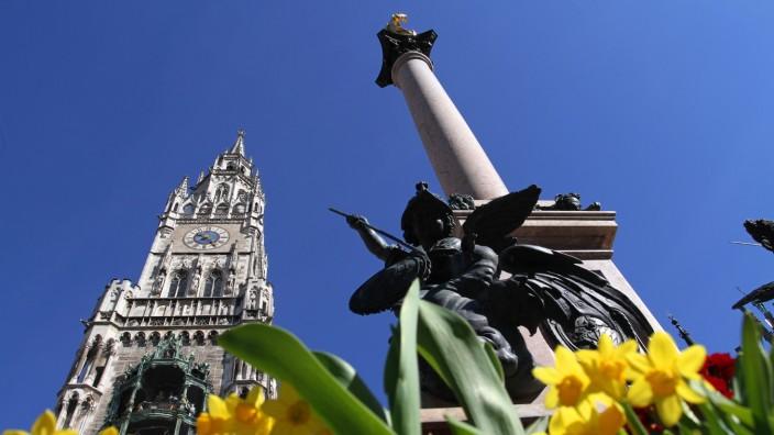 Frühling in München, 2014