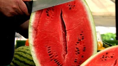 Potenzmittel: Gut für Herz, Kreislauf und andere Dinge: Die Wassermelone.
