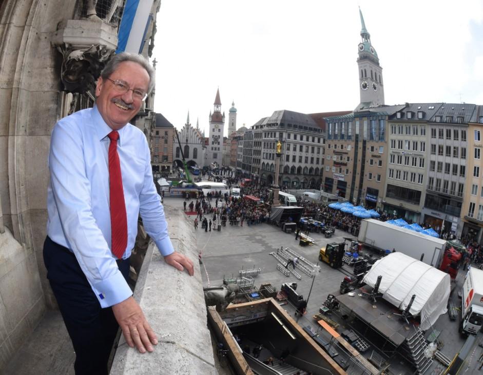 Verabschiedung von Oberbürgermeister Christian Ude