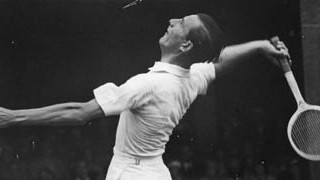 Tennisspieler Fred Perry