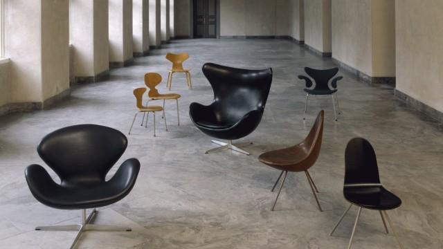 Designmuseum Danmark Stühle Arne Jacobsen