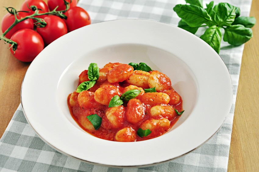 Gnocchi in Tomatensoße