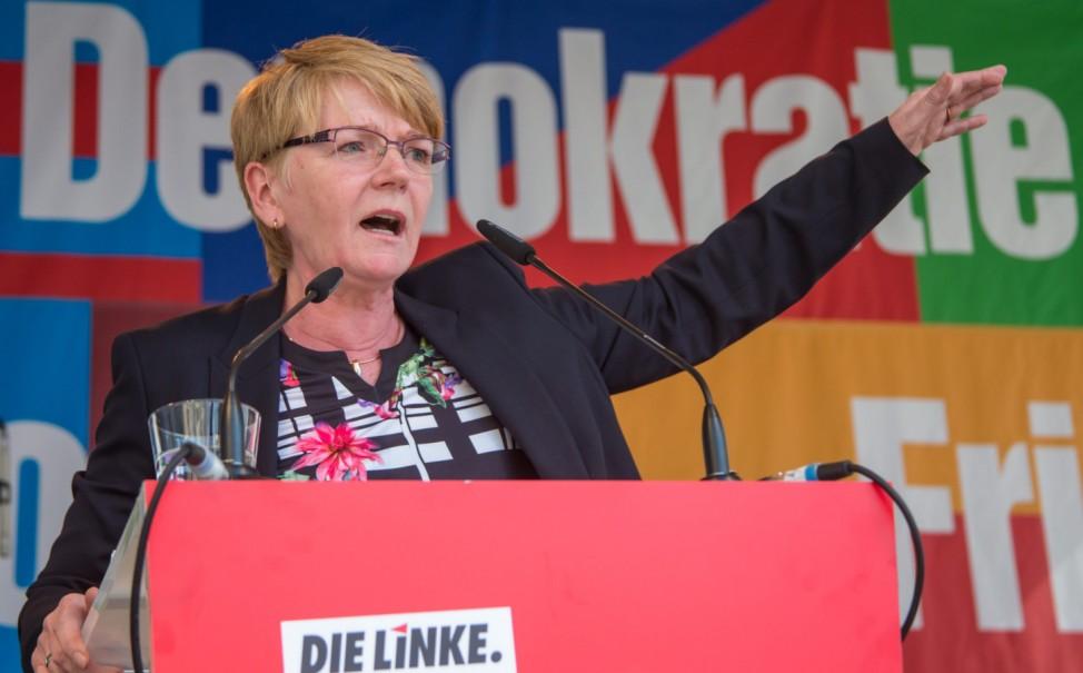 Europawahlkampf-Auftakt Linke