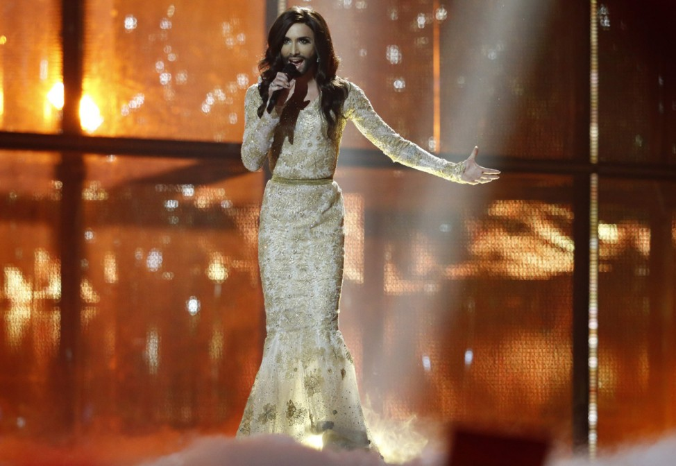 Conchita Wurst Halbfinale Eurovision Song Contest in Kopenhagen