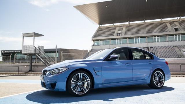 Der BMW M3 auf der Rennstrecke