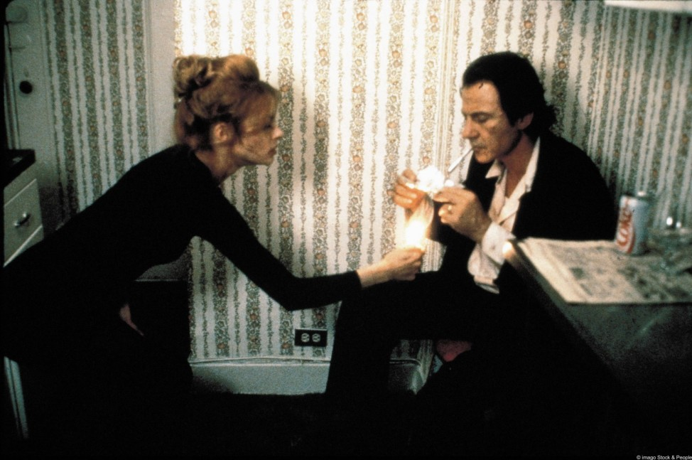 "Harvey Keitel in Abel Ferraras ""The Bad Lieutenant"" (1992)."