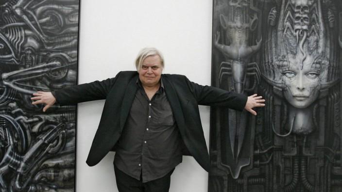 Swiss artist H. R. Giger dies aged 74
