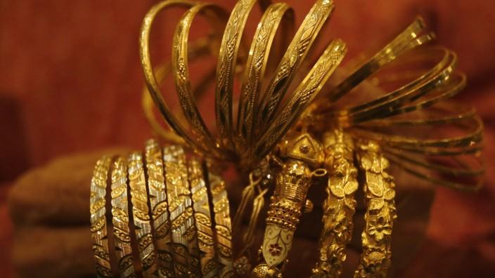 Gold Goldpreis Goldschmuck Geldanlage Indien
