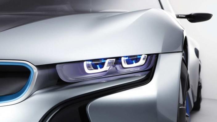 Das Laserlicht des BMW i8