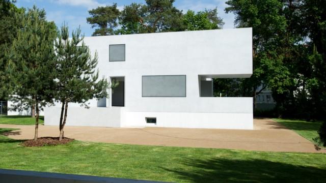 Eröffnung der Meisterhäuser Gropius und Moholy-Nagy