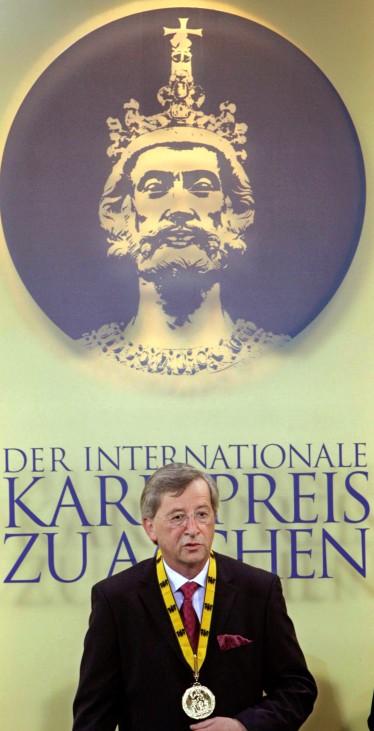 Aachener Karlspreis an Jean-Claude Juncker