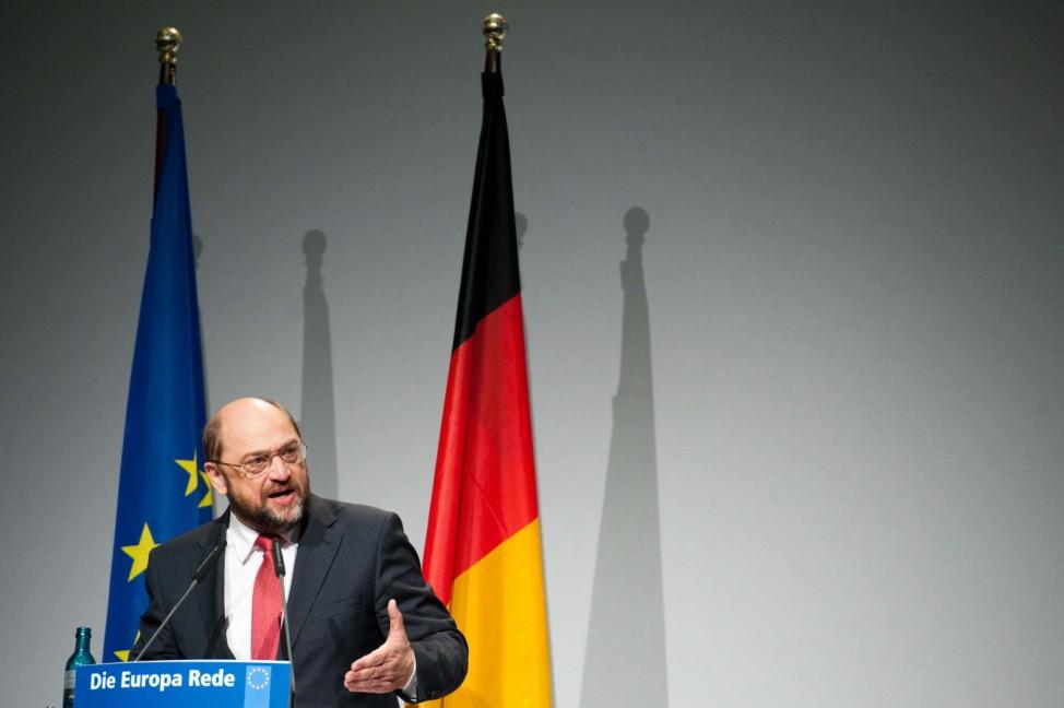 Europa Rede - Martin Schulz