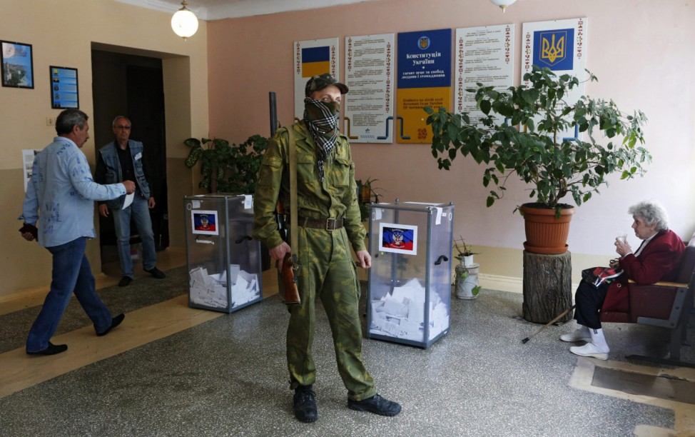 Donetsk People's Republic referendum in Ukraine