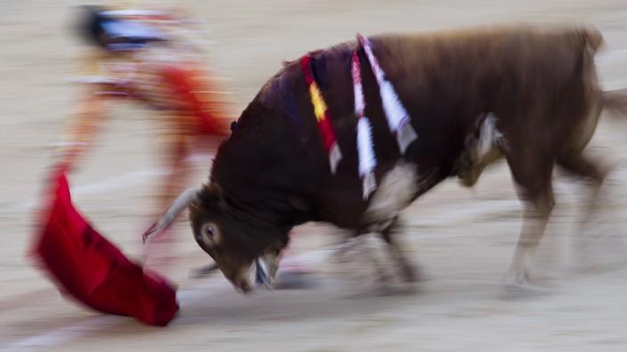 Stierkampf in Madrid Corrida