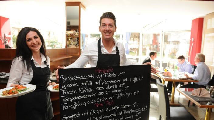 La Fontana: Laufkundschaft verirrt sich eher selten in das italienische Restaurant La Fontana in Sendling.