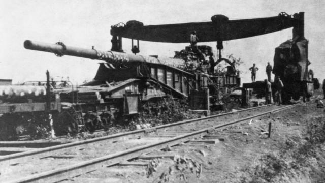 Eisenbahngeschütz dicke berta Berta Block