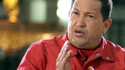 Nach Chávez' Hitler-Vergleich: Der umstrittene venezolanische Staatschef Hugo Chávez.