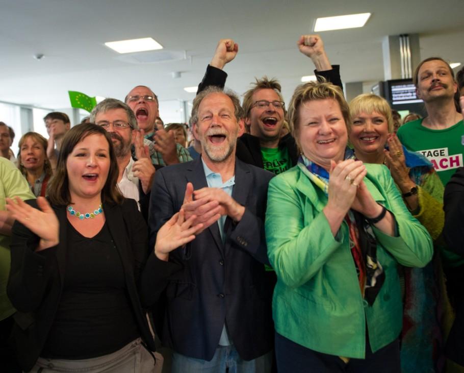 Europawahl 2014 in Deutschland - Grüne