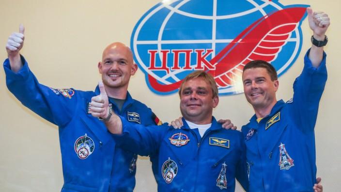 Russian Soyuz TMA-13M preparation for launch