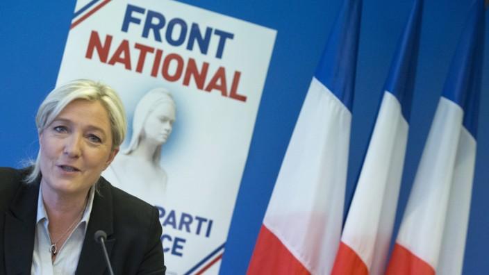 Marine Le Pen press conference