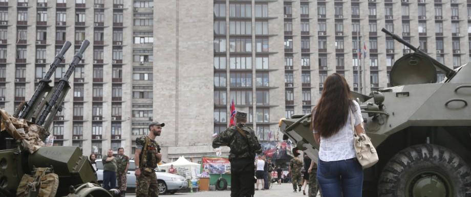 Clashes escalate in eastern Ukraine