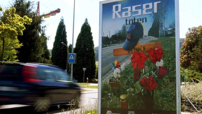 Schweiz: Raser im Straßenverkehr