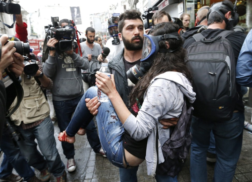 First anniversary of Gezi Park protests
