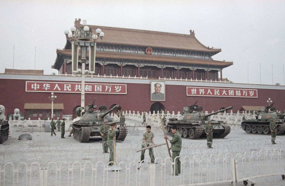 China, Ttiananmen 1989