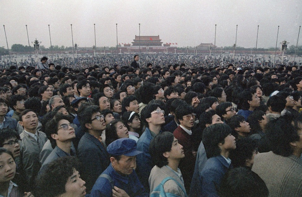 Tiananmen April 1989 China