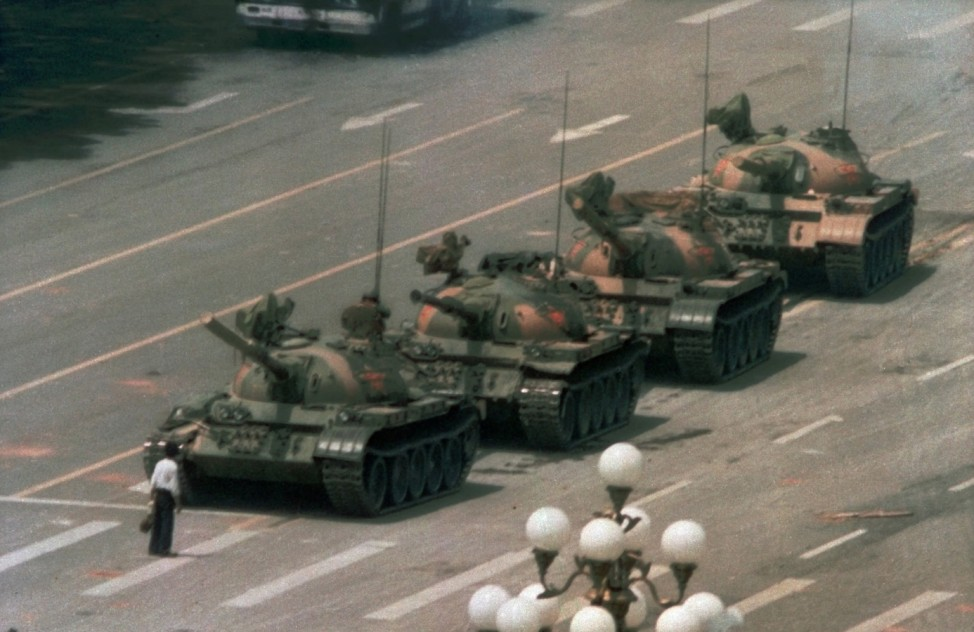 China, Tiananmen 1989