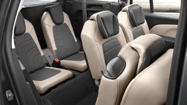Die Sitze des Citroen Grand C4 Picasso