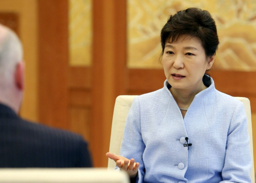 South Korean President Park Geun-hye warns of domino effect from