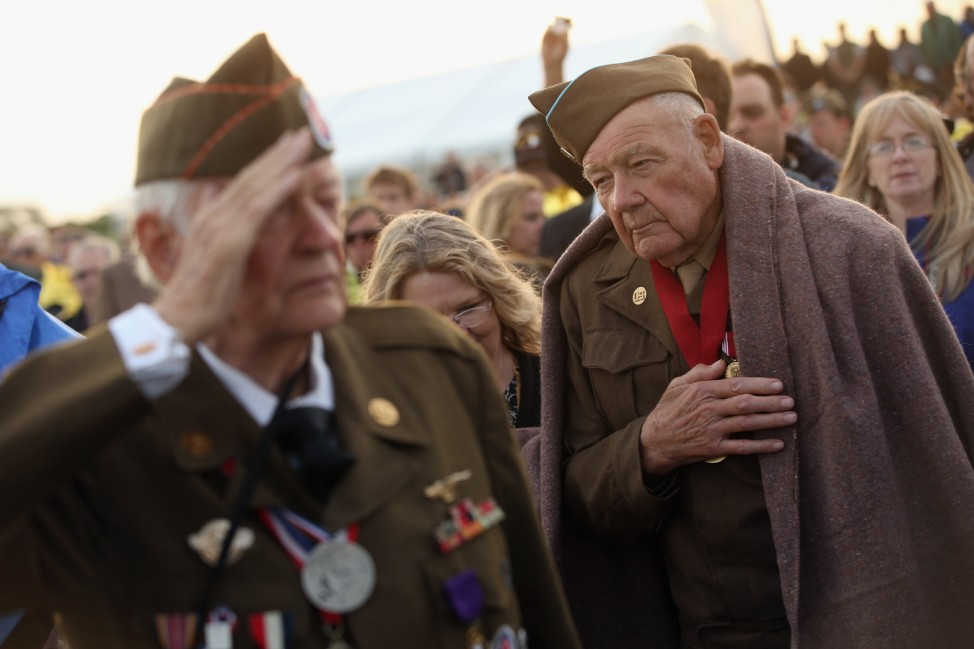 The 70th Anniversary Of The D-Day Landings Are Commemorated In Normandy