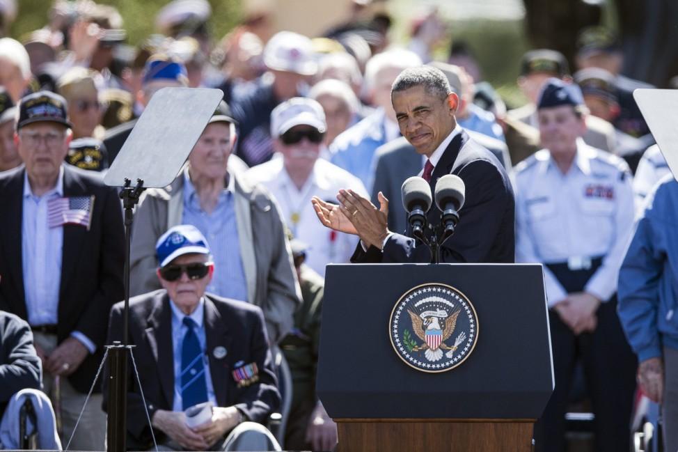 Barack Obama am 70. Jahrestag der Landung in der Normandie