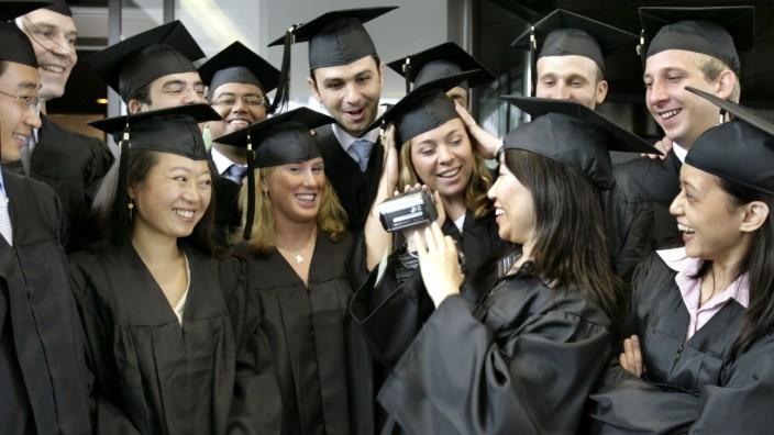 Absolventen der Handelshochschule Leipzig