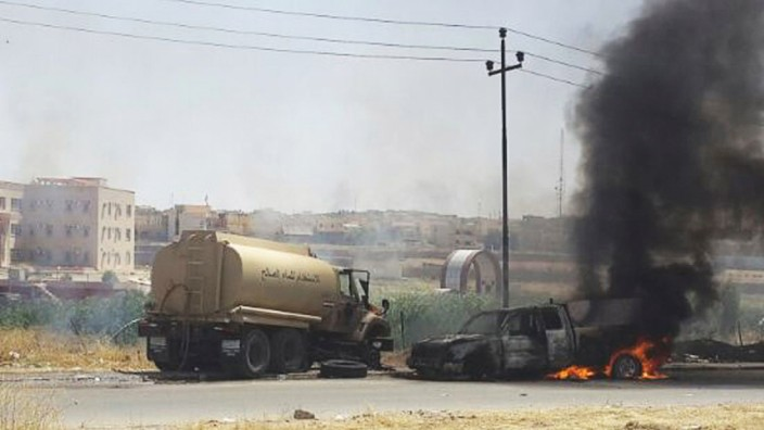 Irak Islamisten nehmen Mossul ein
