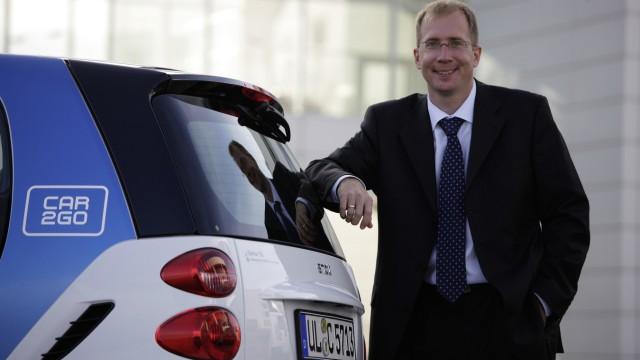 Robert Henrich, Leiter Car2go und Moovel