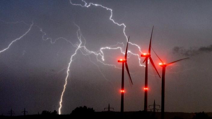 Unwetter in Deutschland
